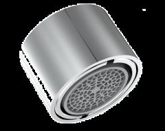 Aérateur inaltérable Ecofitt fileté double - Jet à bulles - 3,8 l/min
