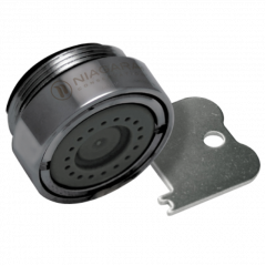 Aérateur inaltérable - Jet aiguille - mâle - 2,0 l/min