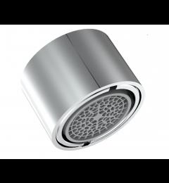Aérateur inaltérable Ecofitt fileté double - Jet à bulles - 5,7 l/min