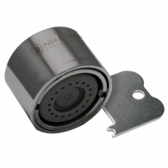 Aérateur inaltérable - Jet aiguille - femelle - 2,0 l/min